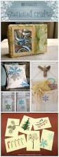 fun to make stenciled holiday crafts stencil stories