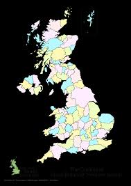Blank Map Britain by Counties Of England Also Map Uk Showing Counties Evenakliyat Biz