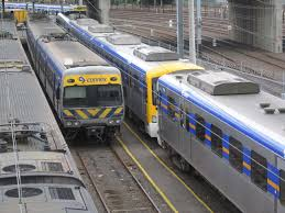 alstom comeng 570m 1135t 661m among the ex m u003etrains at melbourne