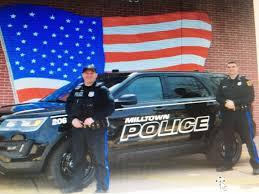 milltown police department gets a new look milltown spotswood nj