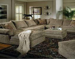 Low Sectional Sofa Sofa Chenille And Leather Sectional Sofa Hereo Sofa Regarding