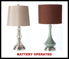 battery operated table lights popular of battery table l handsome battery operated table ls