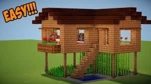 membuat rumah di minecraft minecraft tutorial cara membuat rumah survival 9 minecraft stream