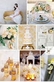 yellow fall wedding colors oak buff wedding color ideas deer