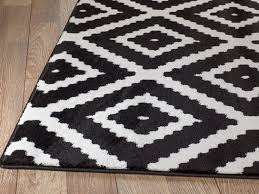 Black White Area Rug Zipcode Design Cheney Black Indoor Area Rug Reviews Wayfair