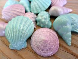 Edible Birthday Favors by 24 Mermaid Edible Fondant Shells Favors Cake Topper Cupcake