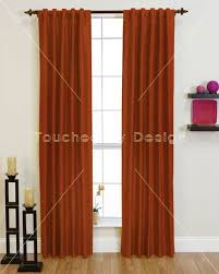 And Orange Curtains Orange Curtains Free Home Decor Techhungry Us