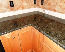 kitchen countertop installation with granite material designoursign