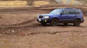 2004 subaru forester lifted playing in the dirt 2004 subaru forester youtube