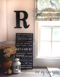 kitchen word wall art black letter and custom typography sign bus kitchen wall art bus roll about us home decor sign