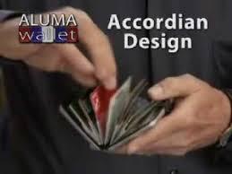 alumni wallet aluma wallet as seen on tv