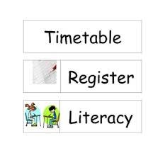 editable timetables teaching ideas