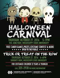 halloween carnival student association mississippi state