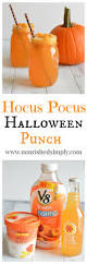 hocus pocus halloween punch nourished simply