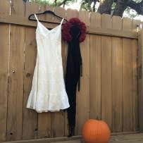La Muerte Costume Halloween Diy Dia De Los Muertos Costume Our Blog Goodwill Of