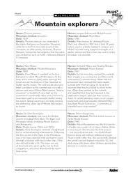 ks2 literacy biography and autobiography mountain explorers free primary ks2 teaching resource scholastic