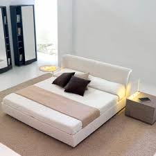 integrated bedside table bed all architecture and design