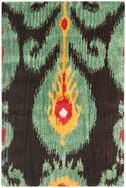 Ikat Outdoor Rug by Rug Ikt219a Ikat Area Rugs By Safavieh