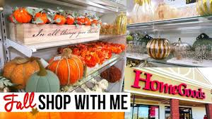 fall home decor shopping at homegoods homegoods shop with me