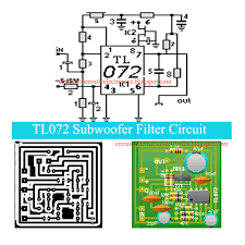2 1 home theater circuit diagram tl072 subwoofer filter circuit electronic circuit