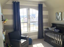 Navy Blue Curtains For Nursery Nursery Baby Boy Mustache Be Brave Big Gray