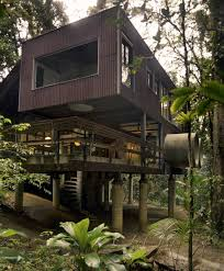 Beach Home Designs Tropical Beach House In The Brazilian Jungle Tropical Beach