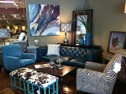 Flexsteel Curved Sofa by Flexsteel Teal Leather Sofa With Flexsteel Accent Chairs Available