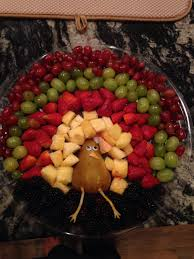 what day does thanksgiving always fall on turkey fruit platter food pinterest turkey fruit platter