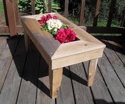 Handmade Outdoor Furniture by Custom Made Handmade Cedar Patio Table Will Wow Your Guests