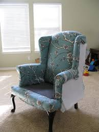 wingback chair reupholstering furniture for dummies easy
