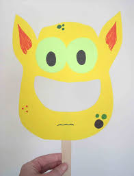 page animal mask template for children crafts you can make with