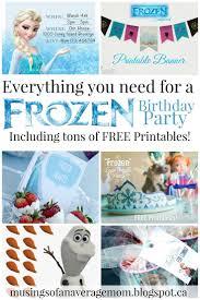 best 25 frozen birthday party supplies ideas on pinterest