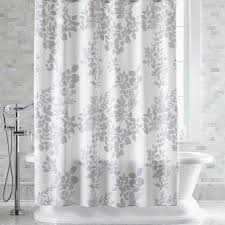 Gray Shower Curtains Fabric Light Grey Shower Curtain Curtains Ideas