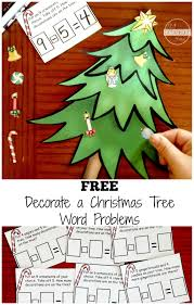 free christmas math word problems