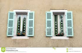 Home Windows Design Images Antique French House Window Decor Stock Photos Image 32399773