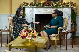 Oprah Winfrey Homes by Michelle Obama Gave A Somber Exit Interview To Oprah Winfrey The