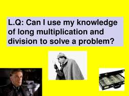 codebreakers long multiplication and division word problems l5