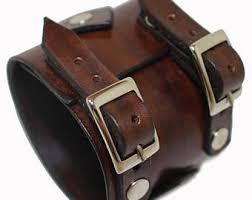 leather bracelet wristband images Johnny depp style leather bracelet mens leather jewelry jpg