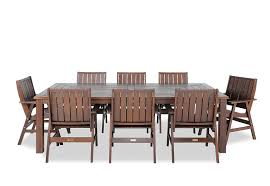 nullarbor 9 piece outdoor setting super a mart outdoor ideas