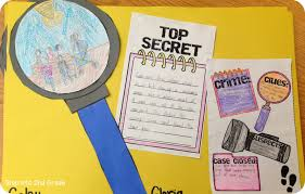 detective clubs step into 2nd grade