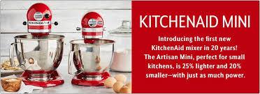Mini Kitchen Aid Mixer by Kitchenaid Kitchenaid Mini Sur La Table