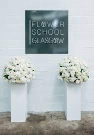 wedding flowers glasgow wedding wednesday flower school glasgow large structures