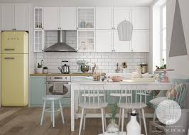 scandinavian interior designs with pastel and lightly colour wood