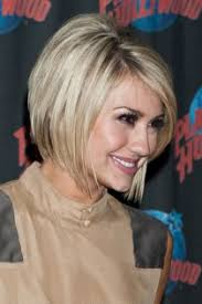 who cuts chelsea kane s hair chelsea kane past the jaw line bob haircut with layers around
