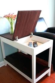 side table with laptop storage laptop storage end table laptop storage end table storage tables