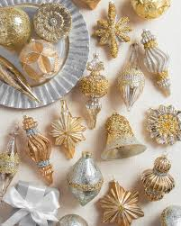 And Gold Glass Ornaments Silver And Gold Glass Ornament Set Balsam Hill Aspen House