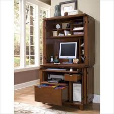 Computer Hutch Desk With Doors Computer Armoire Desk Cabinet Image Yvotube Com