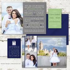 wedding invitations utah photo invitation jeneze designs