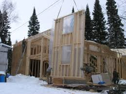 is it safe to build a home in the winter pine creek homes