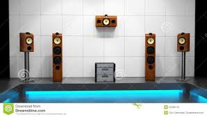 modern home theater royalty free stock image image 20369176